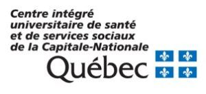 Logo CIUSSS de la Capitale-Nationale